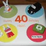 Multiple Themed Novelty Birthday Cake