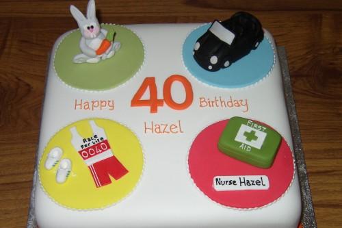 Multiple Themed Novelty Birthday Cake