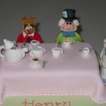 Alice In Wonderland Tea Party Novelty Caket