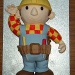 Bob The Builder Inspired Birthday Cake