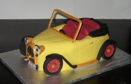 Brum \inspired \novelty Birthday Cake