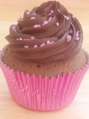Chocolate And Vanilla Cup Cakes