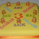 Children's Joint Birthday Party Cake