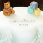 Novelty Teddy Bear Christening Cake