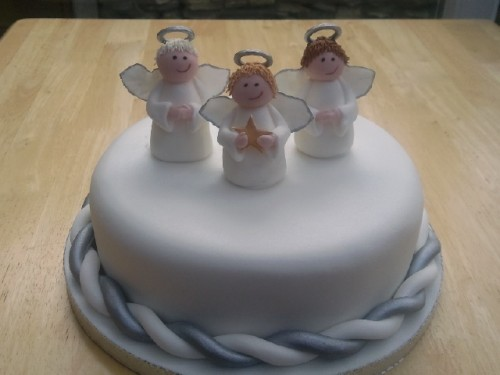 LIttle Angels Christmas Cake