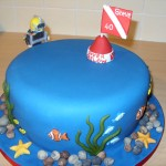 Deep Sea Diver Birthday Cake