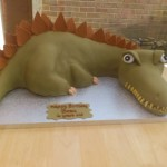Dinosaur Novelty Birthday Cake