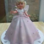 Fairy Princess Novelty Birthday Cake