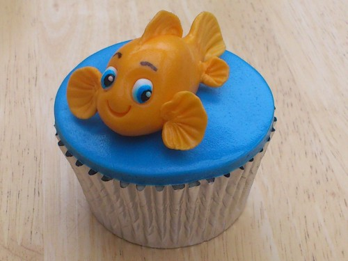 Fishy Novelty Cup cakes
