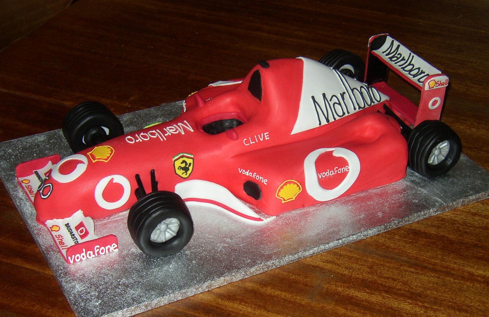 Formula 1 Ferrari Birthday Cake | Susie's Cakes