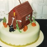 Garden Shed Novelty Bithday Cake