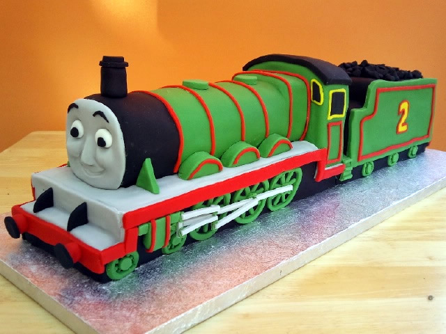 Magnificent Henry Thomas The Tank Engine Birthday Cake Susies Cakes Funny Birthday Cards Online Eattedamsfinfo