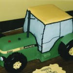 John Deere Tactor Inspired Birthday Cake