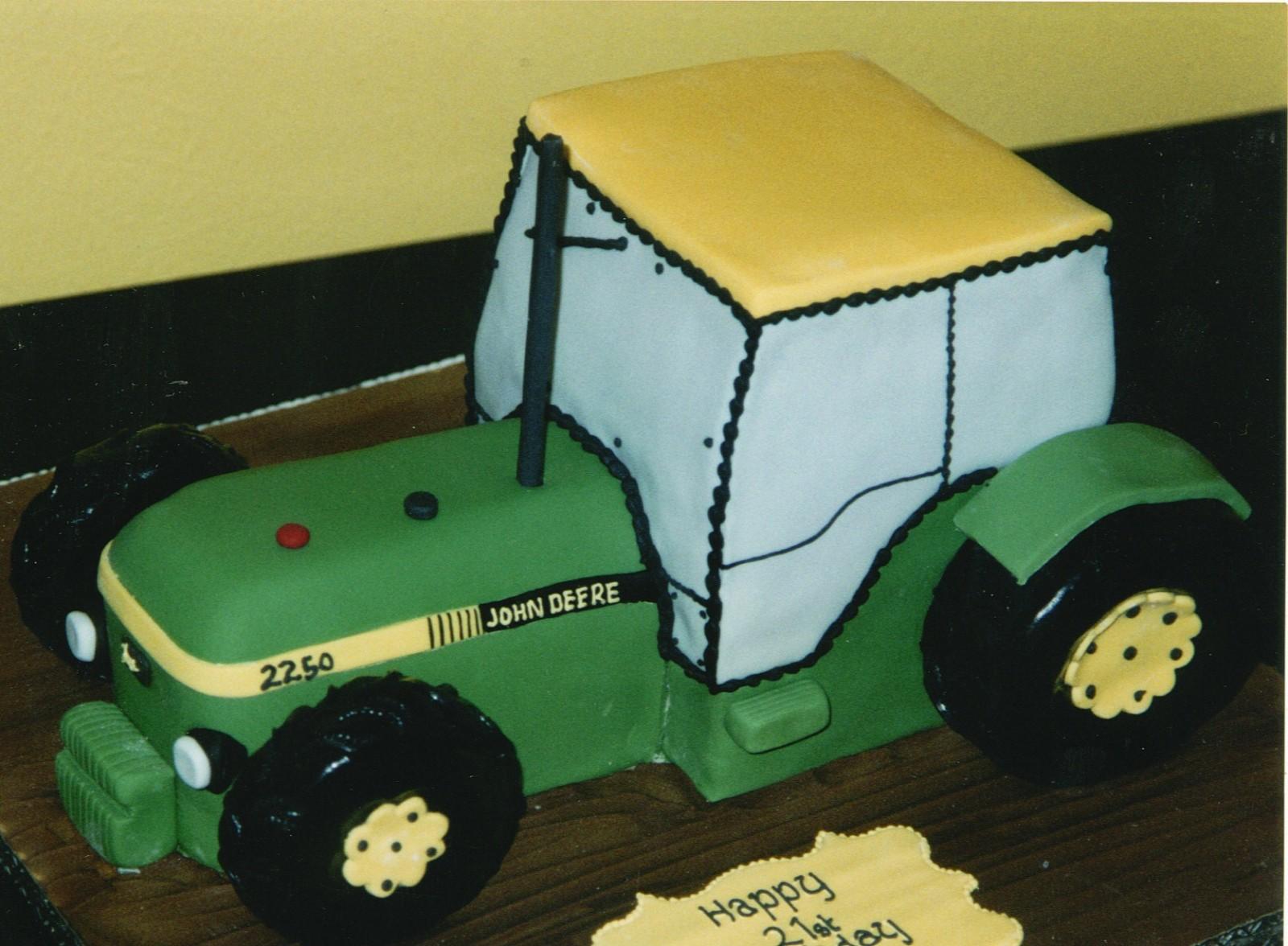 Magnificent John Deere Tractor Inspired Birthday Cake Susies Cakes Funny Birthday Cards Online Amentibdeldamsfinfo