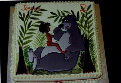 Jungle Book Inspired Novelty Birthday Caket