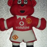 Man Utd Red Devil Mascot Birthday cake
