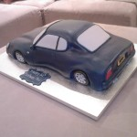 Maserati Novelty Birthday Cake