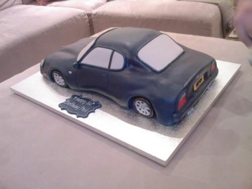Maserati Novelty Birthday Cake