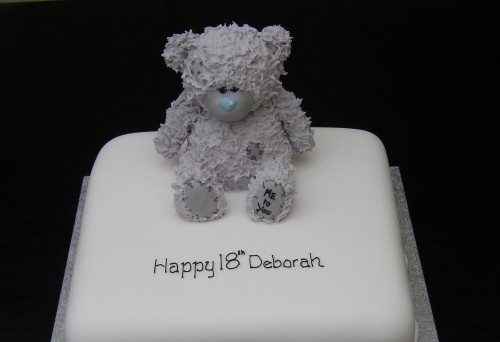 Me To You Bear Inspired Birthday Cake