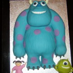 Monsters Inc Inspired Birthday Cake