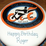 Motorcycle Club Inspired Birthday Cake