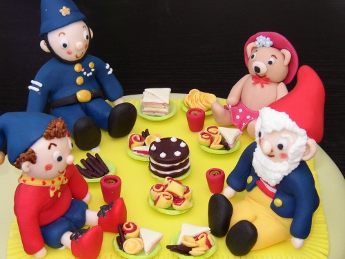 Noddy And Friends Picnic Party Birthday Cake