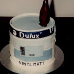 Decorators Pot of Paint Birthday Cake