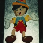 Pinocchio Inspired Novelty Birthday Cake