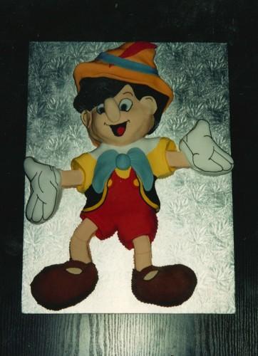 Pinocchio Inspired Novelty Birthday Cake