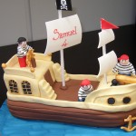 Pirates Ship Birthday Cake