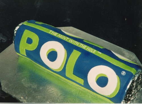 Polo Mint Inspired Novelty Birthday Cake