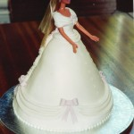 Barbie Doll Princess Ball Gown Birthday Cake