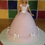 Barbie Doll Princess Novelty Birthday Cake