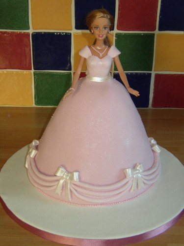 Barbie Doll Princess Novelty Birthday Cake