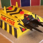 Panic Attack Robot Wars Inspired Birthday Cake