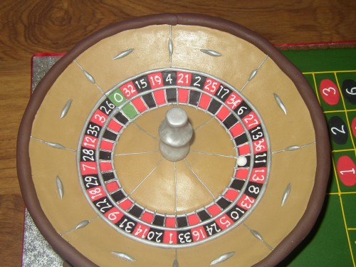 Roulette Table Novelty birthday Cake