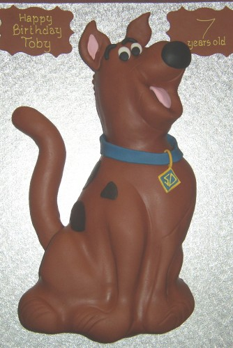 Scooby Doo Inspired Birthday cake
