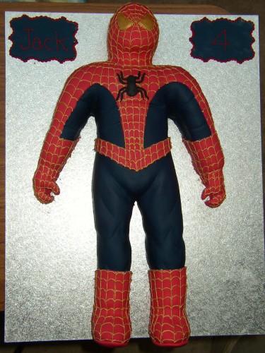 Spiderman Inspired Novelty Birthday Cake