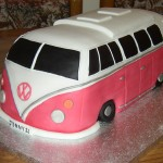 Split Screen VW Camper Van Cake
