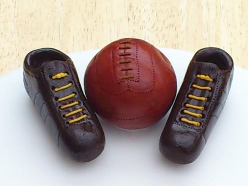 Multiple Sports Themed Birthday Cake