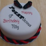 Street Dance Inspired Birthday Cake