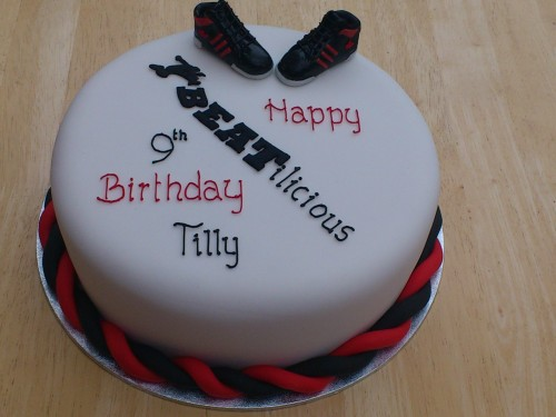 Street Dance Inspired Birthday Cake