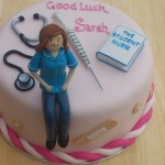 Student Nurse Novelty Birthday Cake