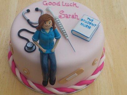Student Nurse Novelty Birthday Cake Susies Cakes