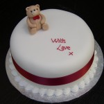 Simple Teddy Bear Any Occaasion Cake