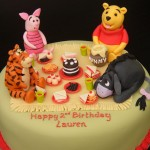 Winnie The Pooh And Friends Picnic Birthday Cake