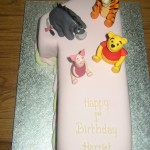 Winnie The Pooh And Friends Novelty Birthday Cake