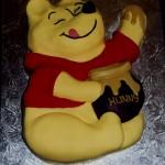 Winnie the Pooh with Hunny Pot Birthday Cake
