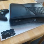 XBox Inspired Birthday Cake