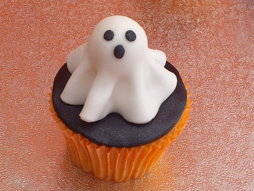 Novelty Halloween Cup Cake